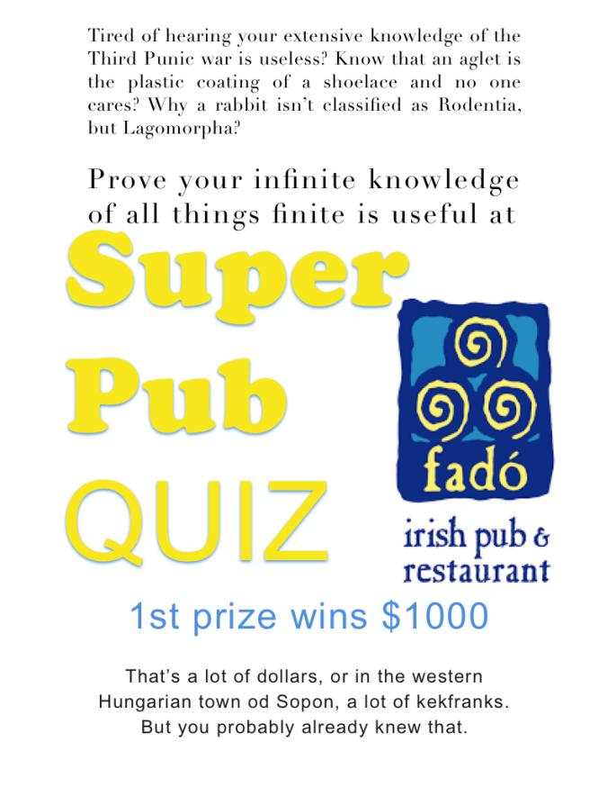 Super Pub Quiz